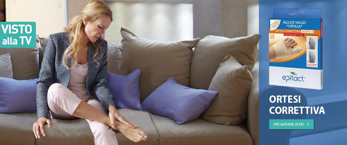 L'indossare quotidianamente l'Ortesi Correttiva permette di correggere e di limitare lo sviluppo dell'alluce valgo dando al contempo sollievo ai dolori articolari.